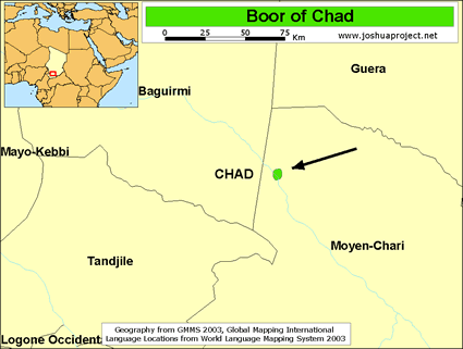 Boor in Chad