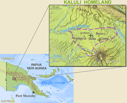 Bosavi, Kaluli in Papua New Guinea