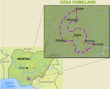 Ezaa in Nigeria