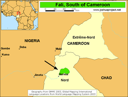 Fali, South in Cameroon