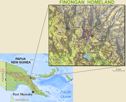 Finungwan in Papua New Guinea