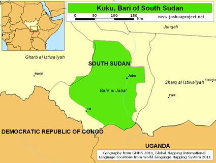 Kuku, Bari in South Sudan
