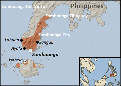 Chabakano Creole in Philippines