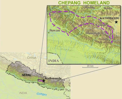 Chepang in India