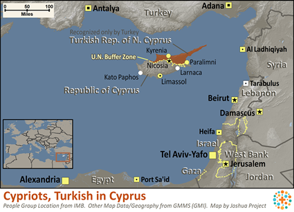 Cypriots, Turkish in Cyprus