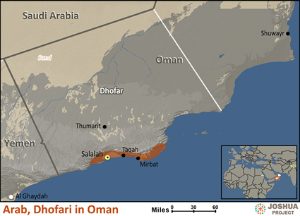 Arab, Dhofari in Oman