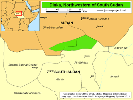 Dinka, Northwestern in South Sudan