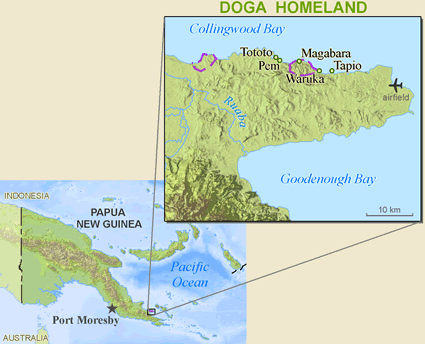 Doga in Papua New Guinea