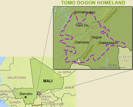 Dogon, Tomo Kan in Côte d'Ivoire