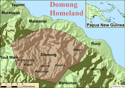 Domung in Papua New Guinea