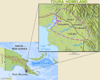Doura in Papua New Guinea