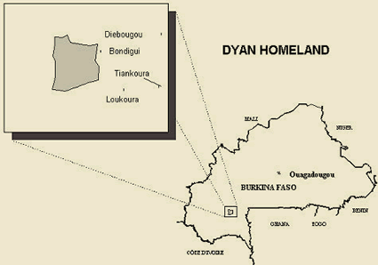 Dyan in Burkina Faso