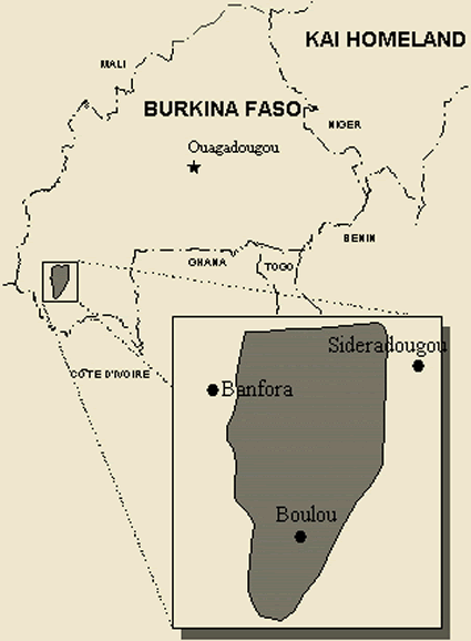 Karaboro, Eastern in Burkina Faso