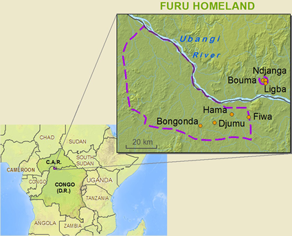 Furu in Congo, Democratic Republic of