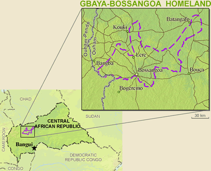 Gbaya-Bossangoa in Central African Republic