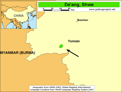 De'ang, Shwe in China