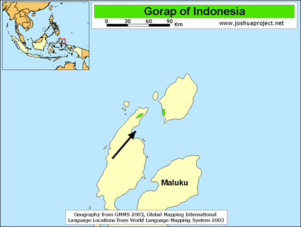 Gorap in Indonesia