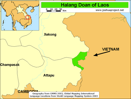 Halang Doan in Laos