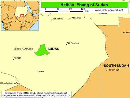 Heiban, Ebang in Sudan