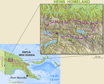 Hewa, Umairof in Papua New Guinea