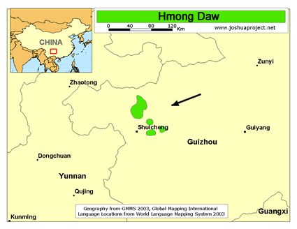 Hmong Daw in China