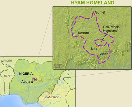 Ham In Nigeria Joshua Project - Niger map hd pdf
