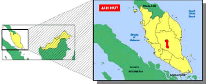Jah Hut, Cheres in Malaysia