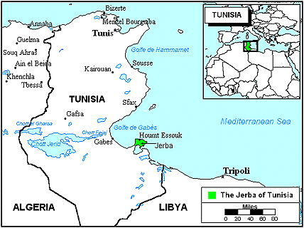 Jerba in Tunisia