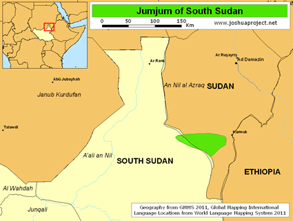 Jumjum in South Sudan