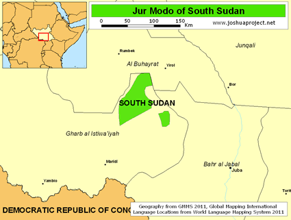 Jur Modo in South Sudan