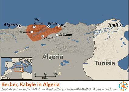 Berber Kabyle in Algeria Joshua Project