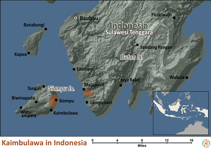 Kaimbulawa in Indonesia