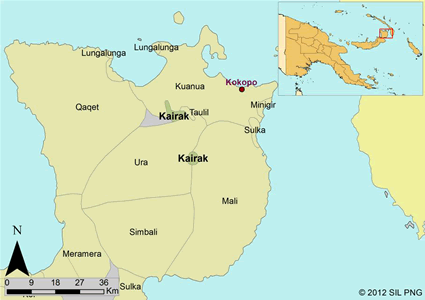 Kairak in Papua New Guinea