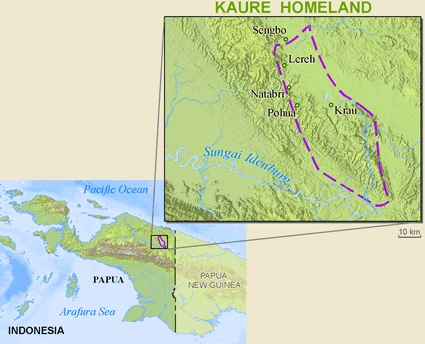 Kaure in Indonesia
