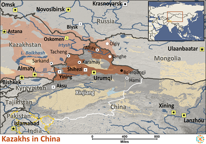 Kazakh in China