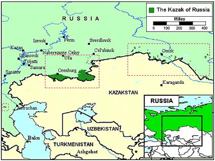 Kazakh in Russia Joshua Project