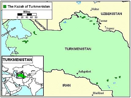 Kazakh in Turkmenistan Joshua Project