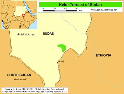 Kelo Tornasi in Sudan Joshua Project