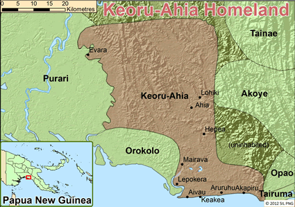 Keuru in Papua New Guinea