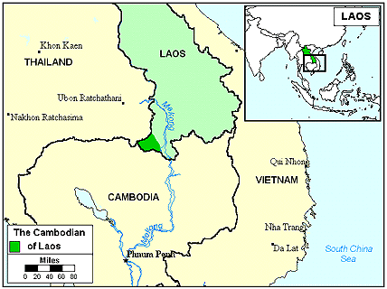 Khmer, Central in Laos