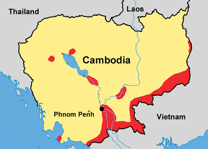 Vietnamese In Cambodia Joshua Project - World map in vietnamese language