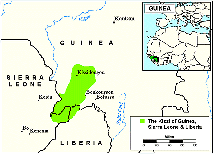 Kissi in Guinea