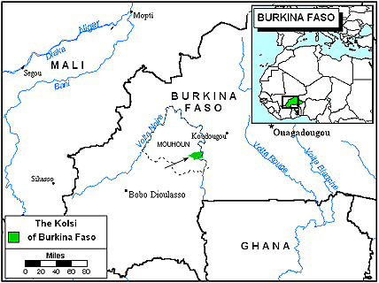 Kolsi, Ko in Burkina Faso