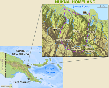 Nukna in Papua New Guinea