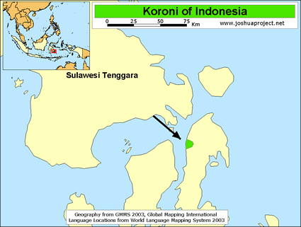 Koroni in Indonesia