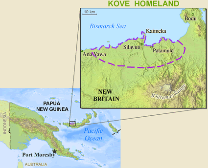 Kove in Papua New Guinea