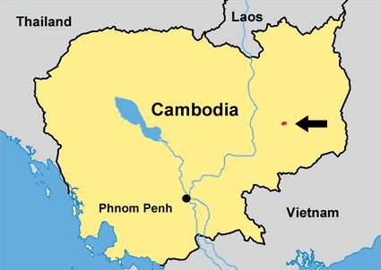 Kraol in Cambodia