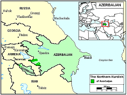 Kurd, Kurmanji in Azerbaijan