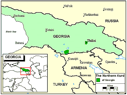 Kurd Kurmanji In Georgia Joshua Project - Georgia map project
