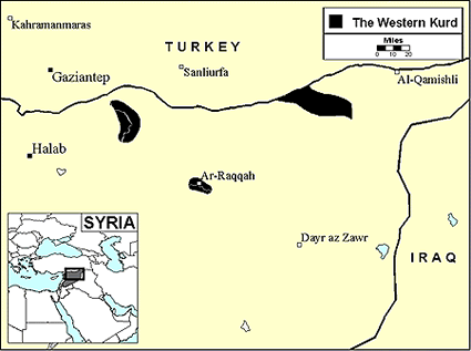 Kurd, Kurmanji in Syria